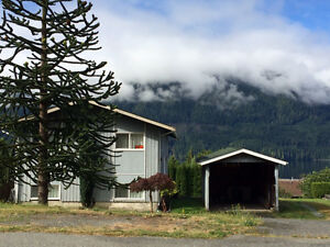 Vancouver Island View Home {reduced price}