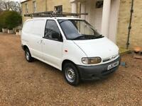 2002 '52' NISSAN VANETTE WITH TWIN SLIDING DOORS