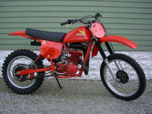 1978 - 1980 honda cr 250 r elsinore parts bike