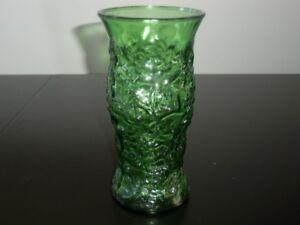 Vase en verre vintage de la  E.O. Brody co.