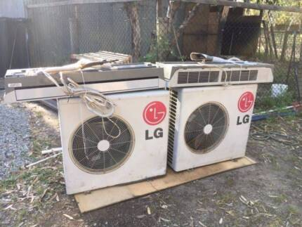 LG Split System Reverse Cycle Air Conditioner Units x 2
