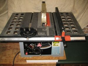 "10"" BENCH / TABLE SAW"