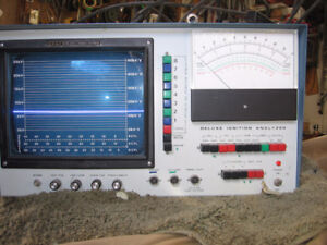 engine analyzer  heathkit co-2600 hot rod