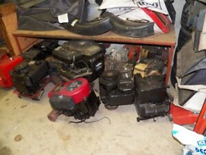 Many Used Small engines