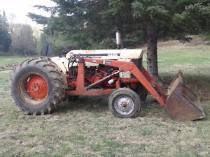 1966 case 540 tractor