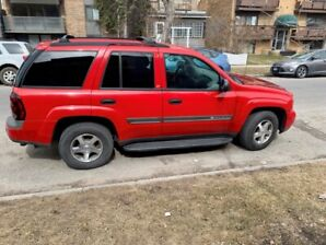 2002 CHEV TRAILBLAZER EXCELEENT CONDITION $2800.00 MCKENZIE TOWN