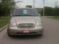 2004 Kia Sedona LX Passenger Van