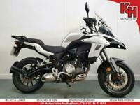 Benelli TRK 502 White 2017 ABS - Heated Grips, YSS Shock, Hand Guards, Rear Rack