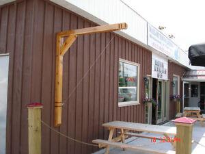 Custom Made Cedar post - Brass- Ring Toss Game Kingston Kingston Area image 5