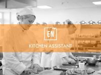KITCHEN ASSISTANTS for FULL TIME and PART TIME positions.
