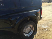 2008 Ford F-450 dually fenders