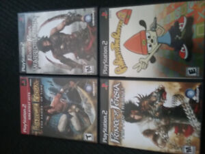 Lot of PS2 games