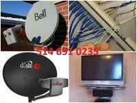 Satellite Service fta dish network bell directv shawddirect
