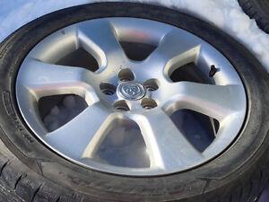 215/50zr17 tires on Toyota rims(4)