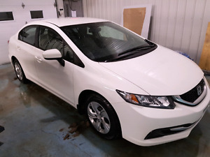 Honda civic 2015 transfert de location