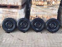 (Like New) Used 175/65/14 tyres loads of tread on 4 stud vauxhall rims