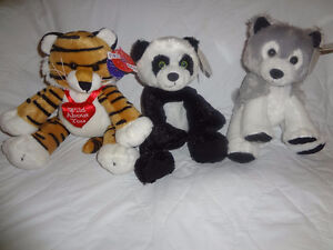New Assorted 1 ST & Main Stuffed Animals with Tags