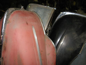 1940 Ford Deluxe Hood very good condition, sell or trade London Ontario image 2