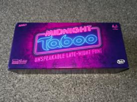 Hasbro Midnight Taboo card game NEW