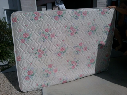 double bed plus mattress for sale