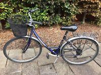 Ladies vintage peugeot natural city bike