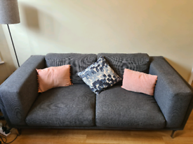 Super Comfy Sofa and footstool for sale