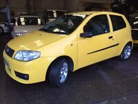 2004 fiat Punto 1.2 active sport in yellow