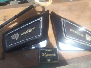 1984 goldwing gl1200 aspencade  manual , side covers and more