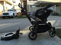 Oribit baby G2 car seat and G3 stroller combo - $480 (langley)