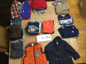 12 - 18 month boy clothes smoke,pet free home