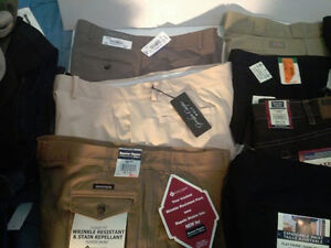 brand name jeans and shirts all new