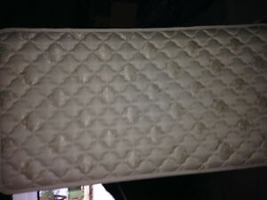 A SINGLE BED BOXSPRING AND FRAME IN GREAT CONDITION 60.00