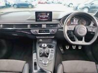 2018 Audi A4 1.4T FSI Black Edition 4dr Saloon Petrol Manual