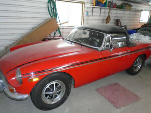 1973 MG MGB Convertible