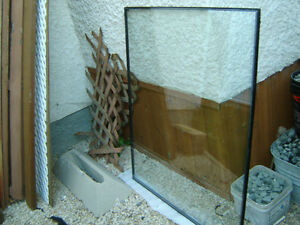 Dual Pane Window Without Frame