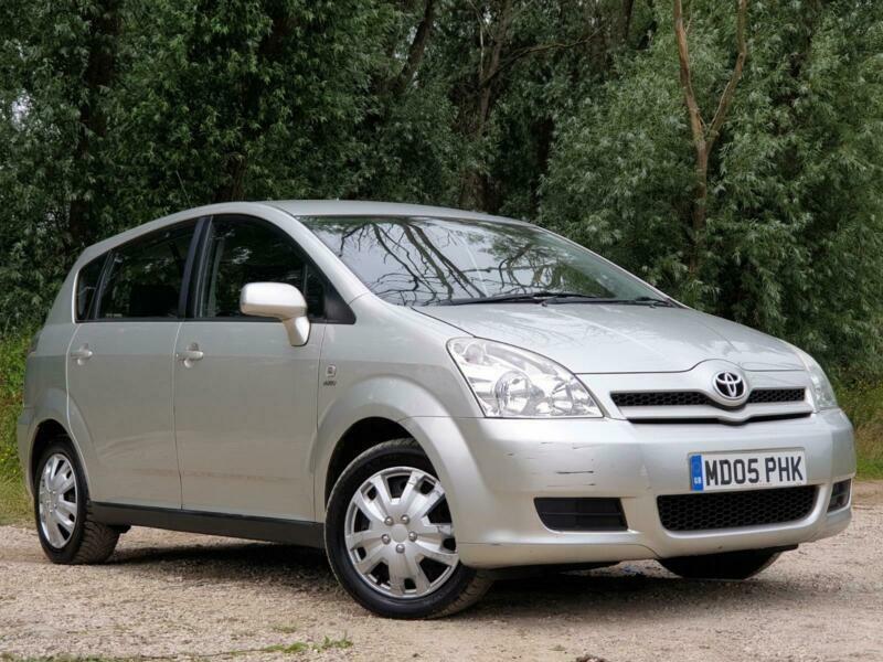 2005 Toyota Corolla Verso 1 6l Vvt I Manual Petrol 5
