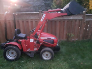 honda tractor 6518 awd with front bucket
