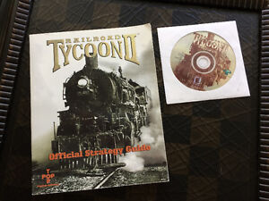 """Railroad Tycoon 2"" (Platinum Edition) & Strategy Guide (NEW)"