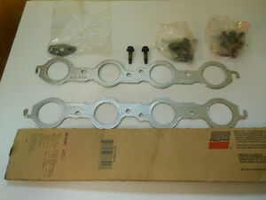 6 litre gmc exhaust manifold gaskets and 12  bolts