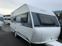 2017 HOBBY ONTOUR 470 kmf 6 berth Fixed bed and banks