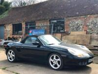 LEFT HAND DRIVE 2001 PORSCHE BOXSTER 2.7 MANUAL CONVERTIBLE LHD SPARES OR REPAIR