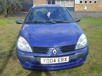 Renault Clio 1.2 16v Expression GOOD MOT AND SERVICE HISTORY