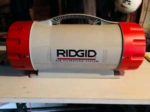 Rigid air filtration system
