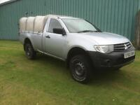 Mitsubishi L200 2.5DI-D CR 4WD Single Cab 4Work !! NO VAT !!!!!!