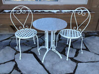 French bistro sets for sale