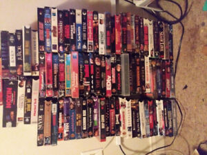 Hello I have 210 VHS movies all kinds