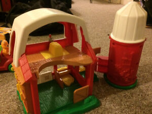 Little People Child's Toys For Sale -Treehouse, farm, and truck