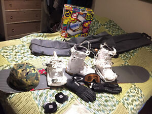 snowboard package everything you need