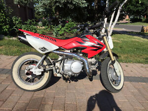 Honda CRF 50 +125cc engine swap