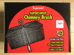 Chimney Brush with 15 foot Extension Rod